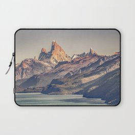 Fitz Roy and Poincenot Andes Mountains - Patagonia - Argentina Laptop Sleeve