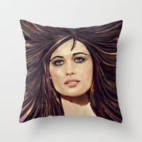 passion Throw Pillows featuring Passion by Balazs Pakozdi