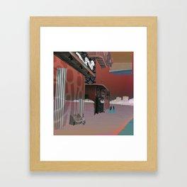 Desert Stadium Framed Art Print
