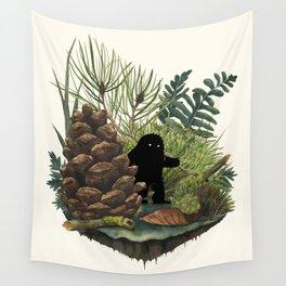 Tiny Sasquatch Wall Tapestry