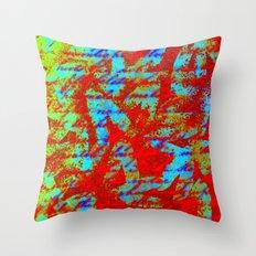 Design Delirium Red Throw Pillow