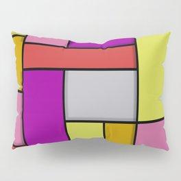Mondrian #6 Pillow Sham