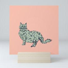 Animal Series - Cat Mini Art Print