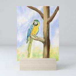 Parrot - Scarlet Macaw  Mini Art Print