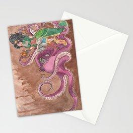 Professor Hawthorne and Mr. Peabody Stationery Cards