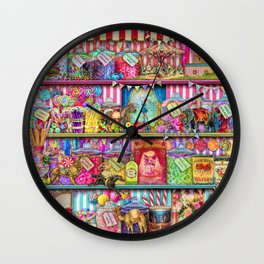 The Sweet Shoppe Wall Clock