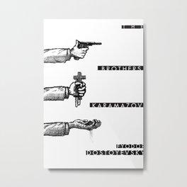 The Brothers Karamazov Metal Print