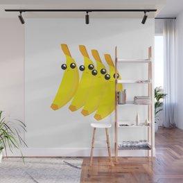 bananas throwing shade Wall Mural