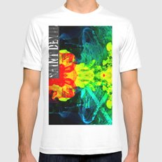 smoke on the water Mens Fitted Tee White MEDIUM