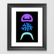 Eye Blob Enn Framed Art Print