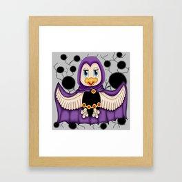 Raven Bird Framed Art Print