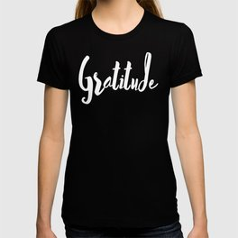 Gratitude Gift positive message, Thank Full Shirt, Happy words Gratitude Quote Clothing Women, Men T-shirt
