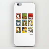 twin peaks iPhone & iPod Skins featuring Twin Peaks by Steven Learmonth