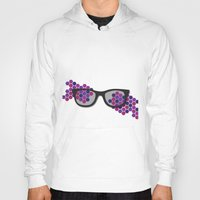 glasses Hoodies featuring Glasses by Laura Stiner
