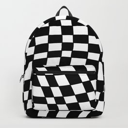 Black and White Distortion Backpack