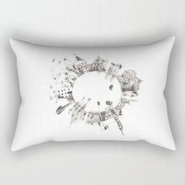 marshland globe Rectangular Pillow