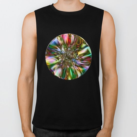 Decorative Glass Biker Tank