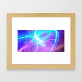 light painting no. 2 Framed Art Print