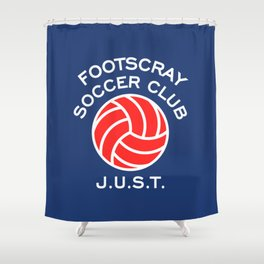 Footscray J.U.S.T. Shower Curtain