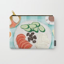 Fresh Home-cooked Turkish Breakfast Carry-All Pouch