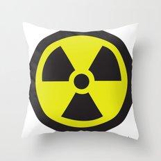 Nuclear Throw Pillow
