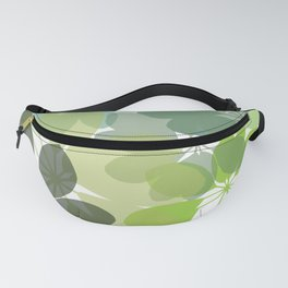 G. Flowers Shape Fanny Pack