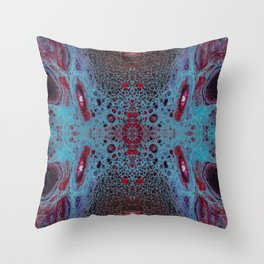 Fragmented 62 Throw Pillow