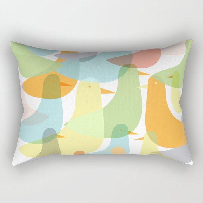 Lyla's Birds Rectangular Pillow