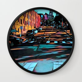 Hyde Street, San Francisco Wall Clock