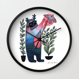 If You Love Something Wall Clock