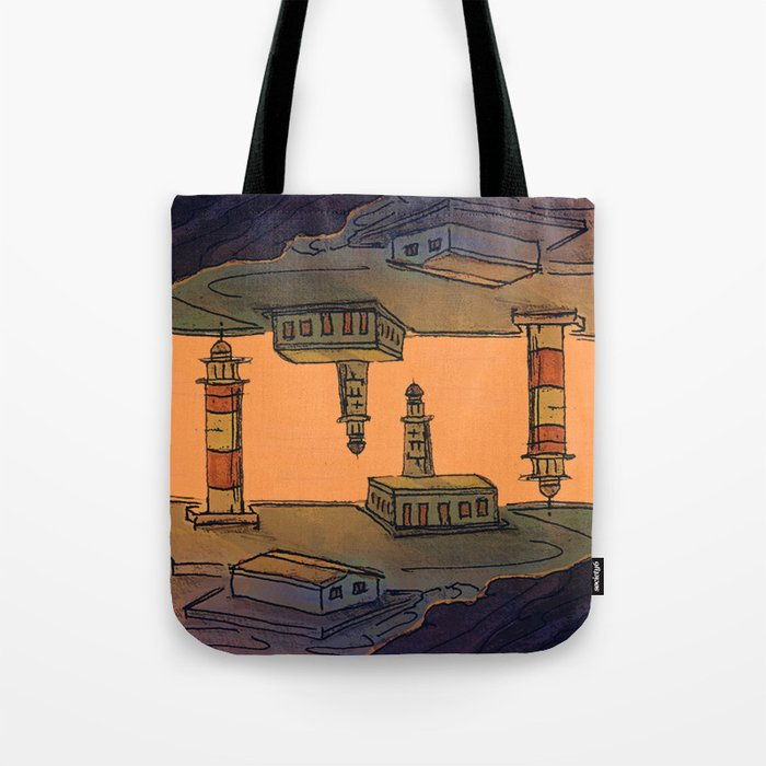 In Love with the Sea / Lighthouses Fuencaliente Tote Bag
