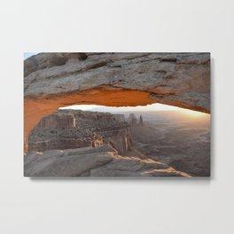 MESA ARCH-Utah Metal Print