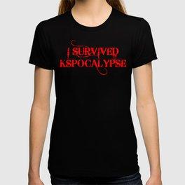I survived the KSpocalypse T-shirt
