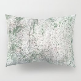 Green concrete Pillow Sham
