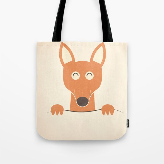 Pocket Kangaroo Tote Bag