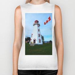 Lighthouse Panmure Island Biker Tank