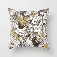 con$umer Throw Pillow