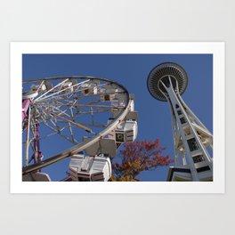 Seattle Art Print