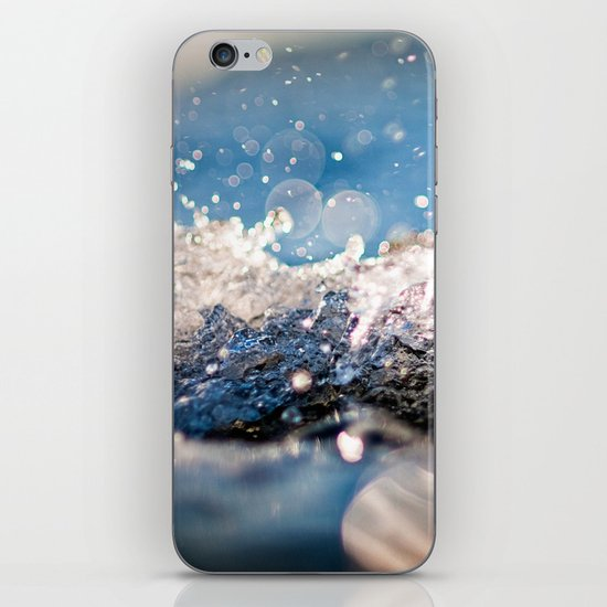 Water Splash iPhone & iPod Skin