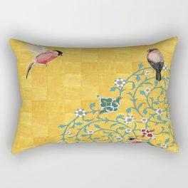 Persian Illustration Rectangular Pillow
