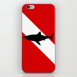 Diving Flag: Shark iPhone Skin