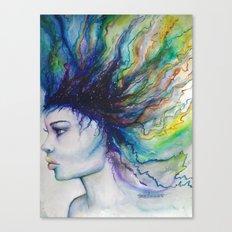 Let go of old dreams Canvas Print