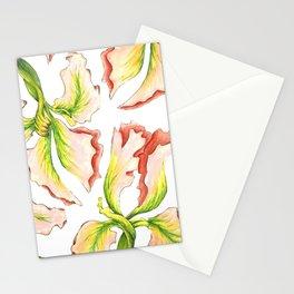 Pink Iris Stationery Cards