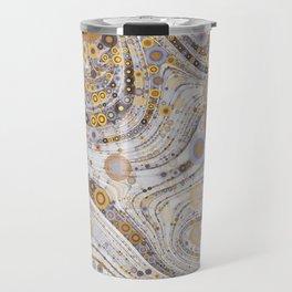 CASABLANCA a bohemian design using soft earth tones Travel Mug