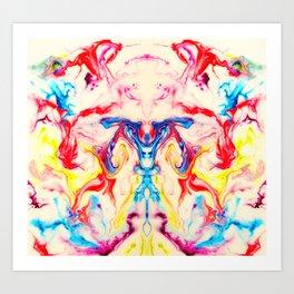 June sQuared Art Print