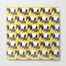 The Tapirs I Metal Print