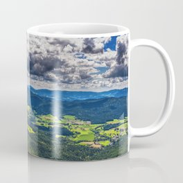 Bavarian Forest Landscape Coffee Mug