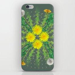 Dandelion Cycle iPhone Skin
