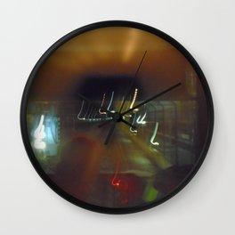 Color metro profile Paris Wall Clock