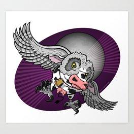Mutant Zoo - Cowl Art Print